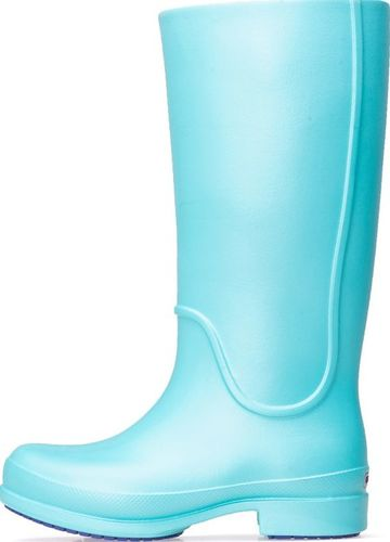 Crocs Kalosze Crocs Wellie Rain Boot Girl Aqua 12473-449 28-29