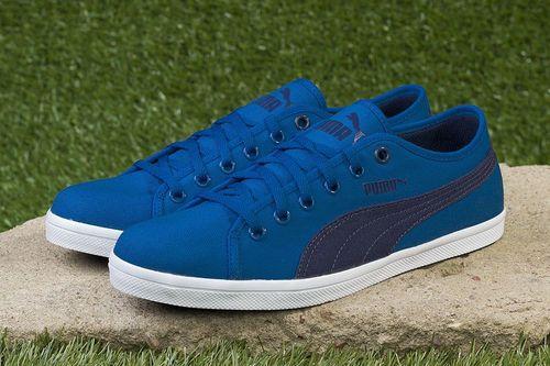 Puma Buty dziecięce Elsu F Canvas Jr niebieskie r. 38 (358038-02)