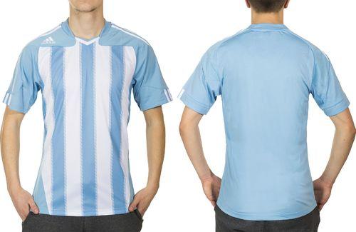 Adidas Koszulka męska Stricon Jsy Ss niebieska r. XXS (P46707)