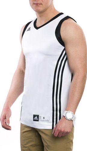 Adidas Koszulka męska W Eu Club Jerse biała r. XL (E73855)