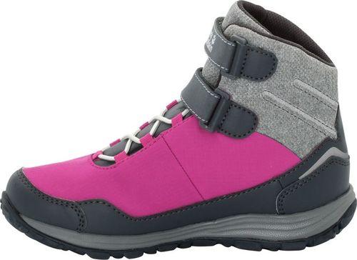 Jack Wolfskin Buty dziecięce Portland Texapore High Vc K różowe r. 32 (4024961-2047)