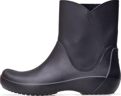 Crocs Kalosze Crocs Rainfloe Bootie Black 203417-001 37-38