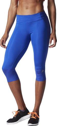 Adidas Leginsy damskie Sn 3/4 Tight niebieski r. S (AA0603)