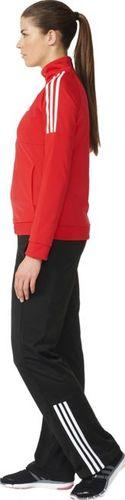 Adidas Komplet dresowy damski Frieda Suit czarno-czerwony r. S (AY1802)