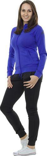 Adidas Komplet dresowy damski Logo Suit czarno-niebieski r. XXS (S20957)