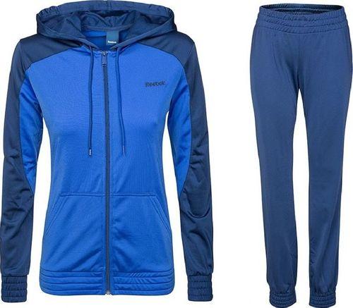 Reebok Komplet dresowy damski T-Suit niebieski r. XS (Z5834)