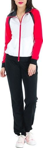 Reebok Komplet dresowy damski Ts Young Knit czarno-biały r. L (Z09570)