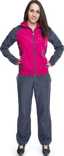Reebok Komplet dresowy damski T-Suit różowo-szary r. S (Z64482)