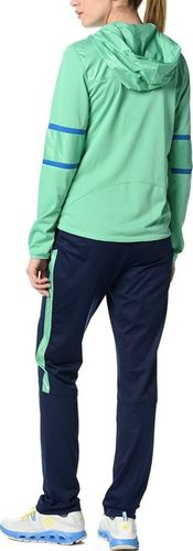Reebok Komplet dresowy damski Ts Stretch Poly granatowo-zielony r. S (AK1380)