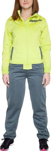 Reebok Komplet dresowy dziecięcy Jogging Set szaro-żółty r. 116 (B03310)