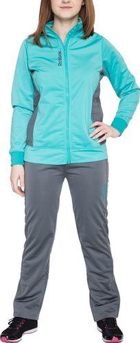 Reebok Komplet dresowy dziecięcy Jogging Set szaro-niebieski r. 176 (B03295)