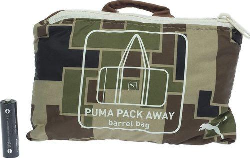 699f77803df16 Puma Torba unisex Pack Away Barrel Bag zielona (071659-03)