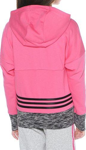 Adidas Bluza dziecięca Yg W St Fz Hd różowa r. 170 (AB4468)