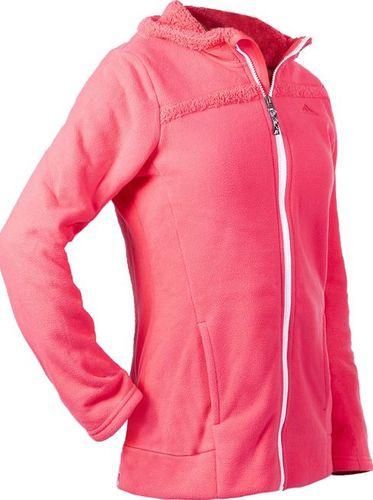 Adidas Bluza dziecięca G Teddy Fleece różowa r. 128 (AP8876)