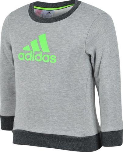 Adidas Bluza dziecięca Yb Ess L Crswbr szara r. 140 (M65442)