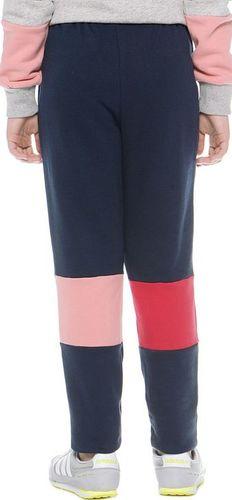 Adidas Spodnie dziecięce J M Pants Fl G granatowe r. 122 (AB2178)