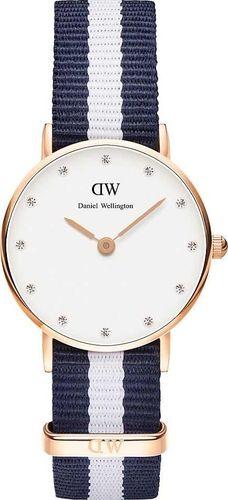 Zegarek Daniel Wellington Zegarek damski Classy Glasgow granatowy (DW00100066 0908DW)