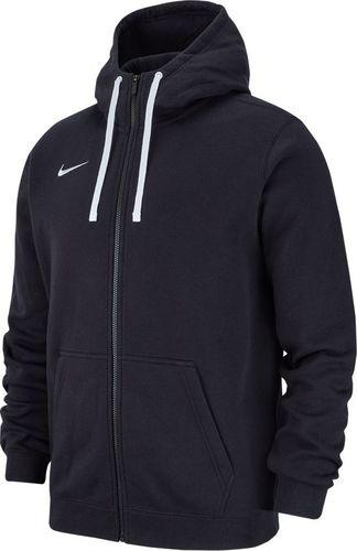 Nike Bluza męska Hoodie Fz Flc Tm Club 19 czarna r. XL (AJ1313 010)