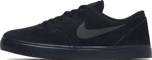 Nike Buty dziecięce Sb Check Suede czarne r. 37.5 (AR0132-001)