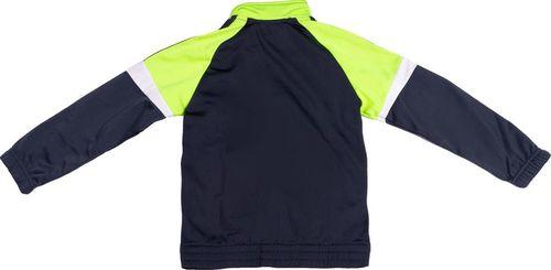 Adidas Komplet dresowy dziecięcy Yb Ts Kn Tib Oh granatowo-zielony r. 104 (AB5209)