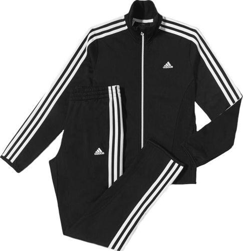 Adidas Komplet dresowy dziecięcy Yb Ts Trio Kn C czarny r. 56 (D87571)