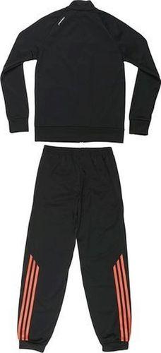 Adidas Komplet dresowy dziecięcy Pre Pes Suit Y czarny r. 74 (F85785)
