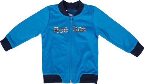 Reebok Komplet dresowy dziecięcy U Tricot Track niebiesko-granatowy r. 74 (W56694)