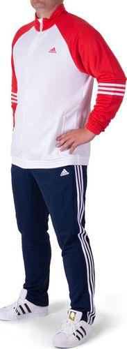 Adidas Komplet dresowy męski Ts Kn biało-granatowy r. XL/XXL (AJ6298)