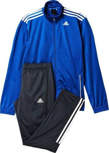 Adidas Komplet dresowy męski Tentro Pes Ts czarno-niebieski r. S (M36196)