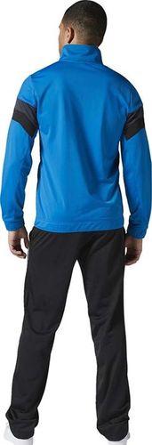 Reebok Komplet dresowy męski Essensials Track Suit Tricot czarno-niebieski r. XS (AY1939)