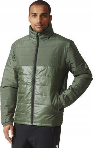 Adidas Kurtka męska ND BC PAD Jacket zielona r. L (AZ0857)