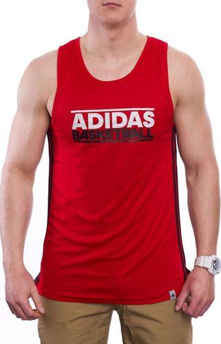 Adidas Koszulka męska Gfx Rev Jers czerwona r. XL (W56493)