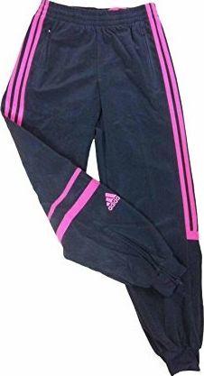 Adidas Spodnie dziecięce Yb Chal Pt Ch szare r. 176