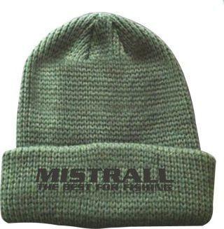 Mistrall Czapka Mistrall zimowa zielona am-6009492