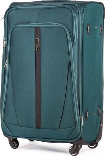 4b2f95c20d8ae Solier Średnia walizka miękka M zielony one size