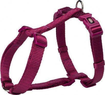 Trixie Szelki taśmowe Premium fioletowa orchodea 10mm