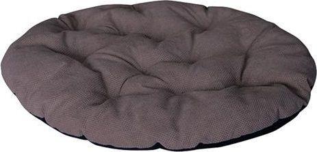 CHABA Poduszka owalna Comfort brązowa 71x63cm