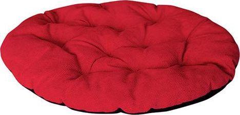 CHABA Poduszka owalna Comfort czerwona 71x63cm