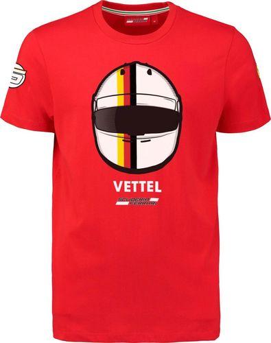 Scuderia Ferrari F1 Team Koszulka dziecięca Vettel Driver 2018 czerwona r. 104
