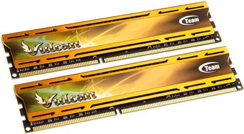 Pamięć Team Group Vulcan Gold - DDR3-1600 CL9 - 8 GB (2x4GB) TLYD38G1600HC9DC01
