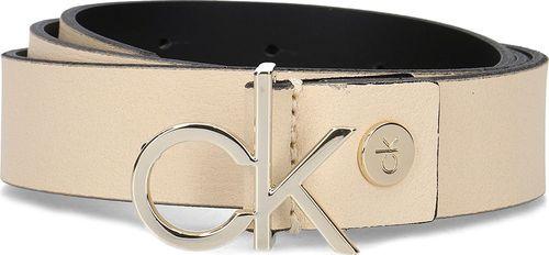 Calvin Klein Calvin Klein 3cm Low CK Adj. Buckle Belt - Pasek Damski - K60K605155 064 80