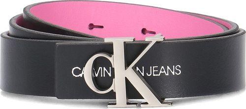 Calvin Klein Calvin Klein Jeans 2.5cm Skinny Rev. Monogram - Pasek Damski - K60K605297 910 90