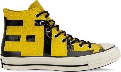 Converse Buty Converse CHUCK 70 GORE TEX LEATHER HIGH C163226 BOLD CITRON BLACK  EGRET 41 b64f6831401