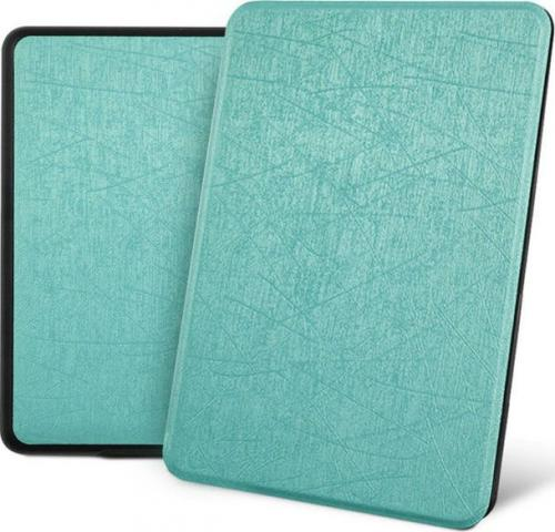 Pokrowiec Alogy Etui Leather Smart Casedo Kindle Paperwhite 4 niebieskie z połyskiem