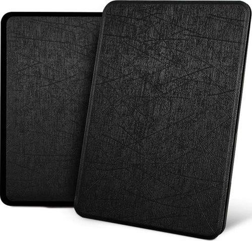 Pokrowiec Alogy Etui Alogy Leather Smart Case Kindle Paperwhite 4 czarne z połyskiem uniwersalny