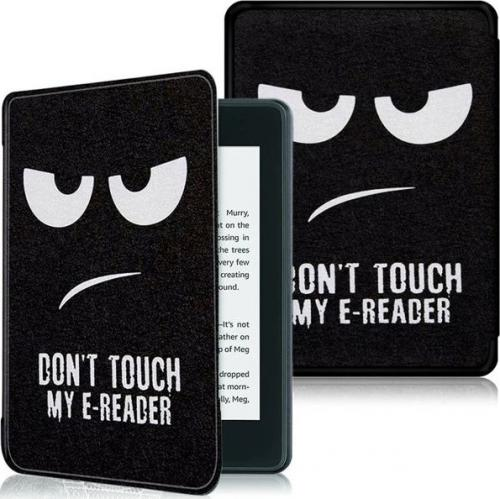 Pokrowiec Alogy Smart Case Kindle Paperwhite 4 Don't touch my e-reader