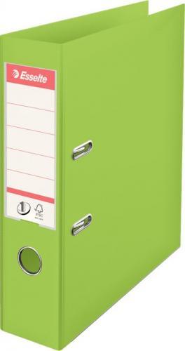 Segregator Esselte No.1 Vivida dźwigniowy A4 75mm zielony (624069)