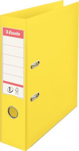 Segregator Esselte No.1 Vivida dźwigniowy A4 75mm żółty (624070)