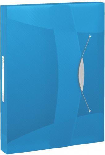 Esselte Teczka z gumką VIVIDA 40MM Niebieski (624047)