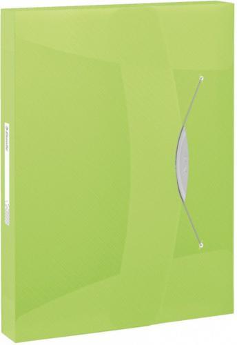 Esselte Teczka z gumką VIVIDA 40MM Zielony (624051)